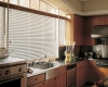 Blinds reduce the energy consumption of your kitchen.